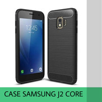 CASE SAMSUNG GALAXY J2 CORE CASING COVER SAMSUNG GALAXY J2 CORE HITAM