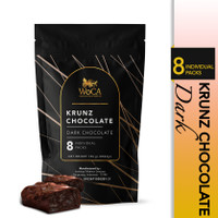 WoCA Krunz Chocolate Dark 8 individual packs - Pouch