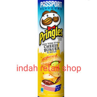 PRINGLES CHEESE BURGER FLAVOUR 107G