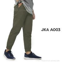 celana santai joger pria bahan baby canvas size M L XL XXL 3XL 4XL 5XL