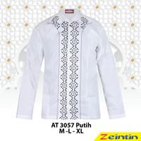 Baju Koko Pria Zeintin AT 3057 Putih