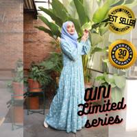 Home Dress Khalina Fashion AINI Katun Rayon Hijau Toska L Termurah - L