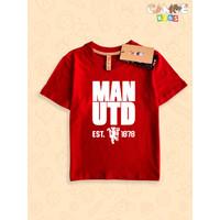 Baju kaos anak kids MU Manchester United Devils