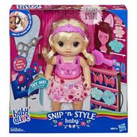HASBRO, Baby Alive Snip 'n Style Baby Blonde Hair