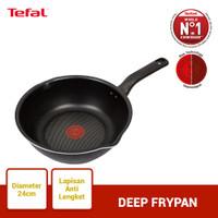 Tefal Everyday Cooking Deep Frypan 24cm - Panci Wajan Penggorengan