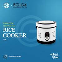 BOLDe Rice Cooker Mini 0.6 Liter - SUPER COOK