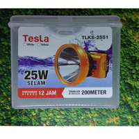 Senter Kepala Tesla TLKS-2551 Waterproof 25Watt