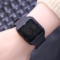 Jam tangan wanita pria nike digital kotak