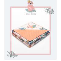 Selimut anak / bayi motif 80 cm x 100 cm - Cute slot