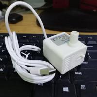 DH118 Pompa Air Celup Mini USB 5V 130L/H Aquascape Hidroponik Aquarium