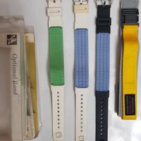 strap/ tali arloji jam tàngan CASIO asli model jadul G shock/baby G
