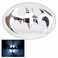 Stiker sticker emblem batman Edition 3D Warna Metal motor mobil bagus
