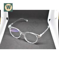 Kacamata Bening Kekinian Style Korea Aksesoris Trend Wanita