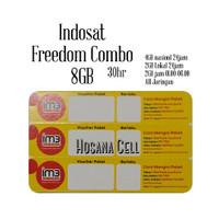 Voucher Paket Data Indosat Freedom 8GB