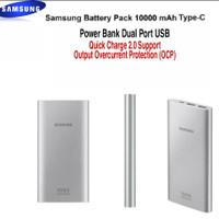 Power Bank Samsung 10000 mAh Kabel Type-C Original Dual Port USB Cable