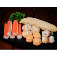 Bakso Mix Seafood Frozen 1 KG - Ferry Fish