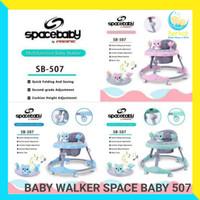 Baby Walker Space Baby 507 babywalker spacebaby apollo bayi roda roda