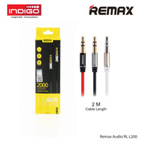 REMAX 3.5mm Aux Audio Cable RL-L200 2m
