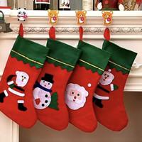 NAT71 - Kaos Kaki Kado Hiasan Gantungan Natal Christmas Socks