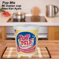 Pop Mie / Mi Instan Cup / Rasa Kari Ayam / 75g