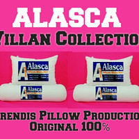 Bantal/Guling ALASCA ( Paket hemat 2 bantal + 2 guling )