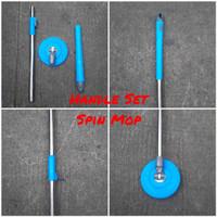 Handle Set Spin Mop Bisa U/ Handle Set Bolde Gagang Tongkat Kepala