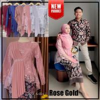 Batik Kebaya Couple Keluarga Modern Baju Kondangan Lamaran Tunangan