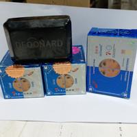 PAKET CREAM DEONARD BLUE 3IN1 / SABUN HITAM