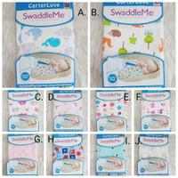 Bedong Instant Bayi Summer - Swaddle Me Baby 12 Pilihan Motif