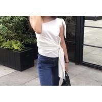 Bow Tied Top Baju Atasan Wanita