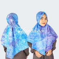Hijab Bergo Tye Dye Karla - Jilbab Instan Bergo Premium Tie Dye