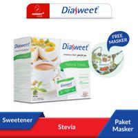 Diasweet Sweetener Stevia bonus Masker