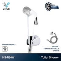 VONE HS-R30W Toilet Shower Set Jet Bidet Cebok Kloset Closet Putih
