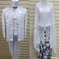satu set baju pengantin akad nikah A