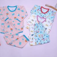 Pakaian Anak Bayi Setelan Panjang Little Q Baju Baby SNI Lembut - XL