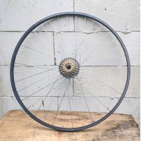 Wheelset 700c 36h 36 hole Rims Velg Araya Freewheel 7speed RimBrake