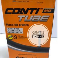 Ban Dalam Continental Conti Tube 700x20 sd 700x25 Presta 60 mm