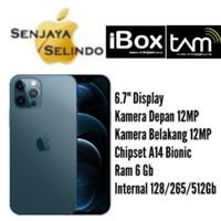 Iphone 12 Pro Max 128Gb/256Gb/512Gb Garansi Resmi IBOX/TAM