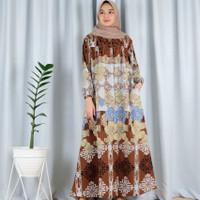 BAJU GAMIS WANITA TERBARU MURAH DRESS MUSLIM PREMIUM BELA FLOWER