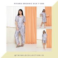 Baju Tidur Piyama Wanita Organic Silk Greet T-066