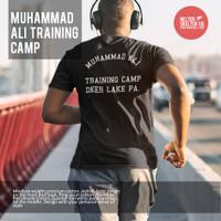 Kaos Baju T Shirt Muhammad Ali Boxing Training Camp Deer Lake PA