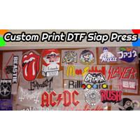 Custom Gambar Print DTF Siap Press