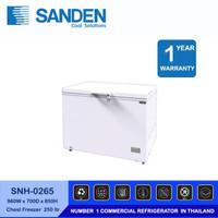 Sanden Intercool Freezer Box SNH-0265 1 Pintu kapasitas 260 Liter