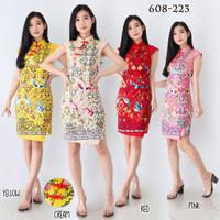 Baju Batik Wanita - Dress Batik Ceongsam Batik Wanita 608 - 609 Murah