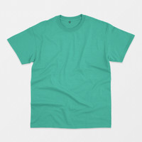 Blank T-shirt Light Tosca (Kaos Polos Hijau Tosca Muda)