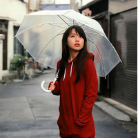 Payung Transparant Umbrella Japanese Style Payung Bening 1020-141