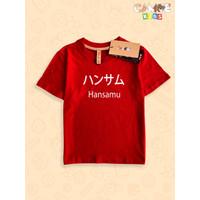 Baju kaos anak kids Hansamu Japan