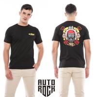 Kaos Pakaian Pria Autorock Move The Soul Hitam Baju Tshirt Kaos Distro - M