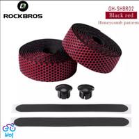 ROCKBROS Bar Tape Sepeda Grip Tape Anti Slip Dropbar Hexagonal Embos