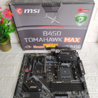 Mainboard MSI B450 Tomahawk Max Garansi 2022 Ryzen 7 9 Gaming Render